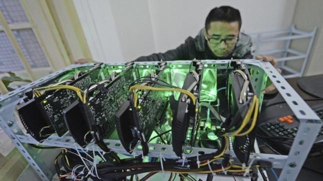 إجراءات بكين قد تفيد عالم تعدين البيتكوين